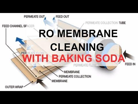 RO MEMBRANE CLEANING BAKING SODA
