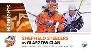 Sheffield Steelers v Glasgow Clan - EIHL - 20th February 2019