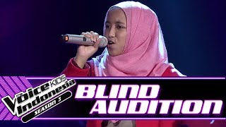 Aulia Stand By You Blind Auditions The Voice Kids Indonesia Season 3 GTV 2018