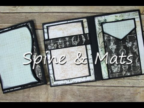 "Spine Pieces & Mats Ultimate ""SMALL Pocket Page Album"""
