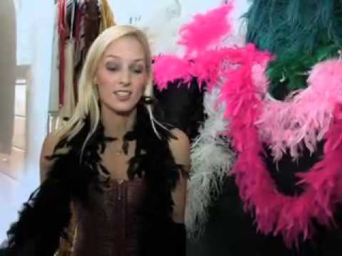 Lisa Raleigh and Pixie Bennett have fun with Burlesque! (Deep Heat: Expresso)