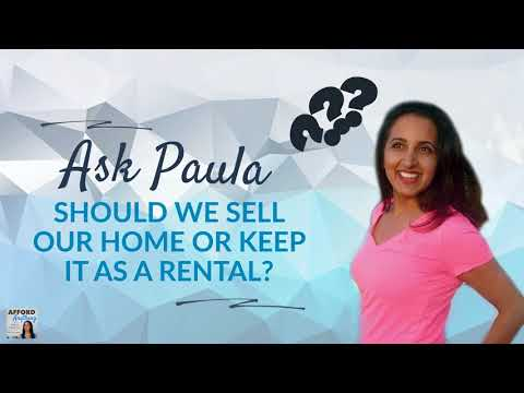 Selling a House vs. Keeping as a Rental?  | Podcast | Audio-only