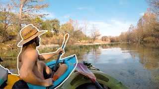 Most Underrated Texas River // KAYAK Camping
