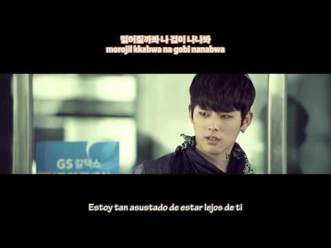 C-CLOWN - Far Away... Young Love (멀어질까봐) [Sub. Español + Hangul + Rom + Mp3]