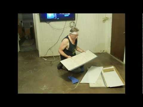 Installing a water resistant floor in just a few hours. By How-to Bob ...