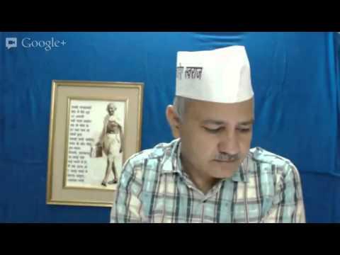 Manish Sisodia - Candidate Selection Process