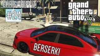 GTA 5 ONLINE med SoftisFFS #24 | BERSERK & MAYHEM!