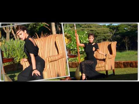 Fashion Photo Shoot With Model Christina in Nairobi by Prof. Hersh Chadha ARPS - 2012