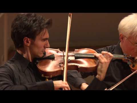 David Aaron Carpenter with Berlin Philharmonic Members
