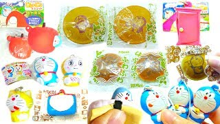 Doraemon Squishy Squeeze Toy Compilation