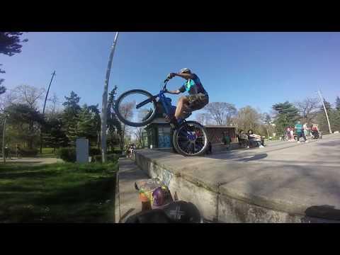 Carol park trial edit / 1.5 months on a trials bike
