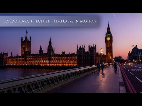 London Architecture Time Lapse (Hyperlapse)