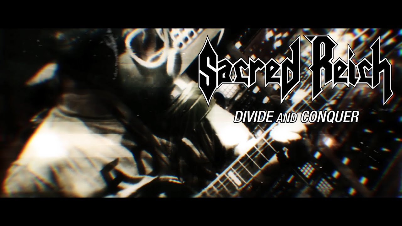 """Sacred Reich """"Divide and Conquer"""" (LYRIC VIDEO)"""