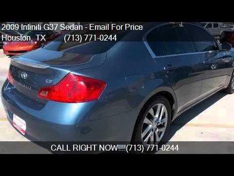 2009 Infiniti G37 Sedan Sedan 4 Door Rwd For Sale In Houston Youtube