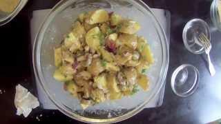 Potato Caesar Salad