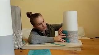 як зробити каркас для лампи своїми руками