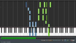 Wagner: Bridal Chorus - Piano Tutorial (Synthesia) + Sheet Music & MIDI