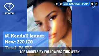 Kendall Jenner and Bella Hadid The Top Fashion Models of the Week | FashionTV | FTV