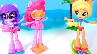 МАЙ ЛИТЛ ПОНИ МУЛЬТИК! Отпуск на Гавайях с Русалками Барби MY LITTLE PONY Мультик Барби
