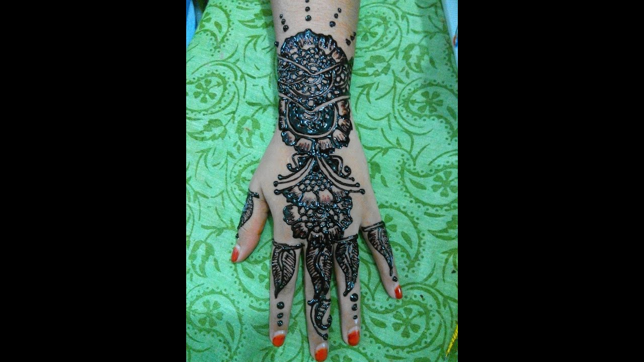 how to draw simple floral henna design mehendi youtube