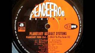 Planetary Assault Systems - Starway Ritual