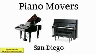 Piano Movers San Diego | 858-375-1715 Professional Piano Moving Company