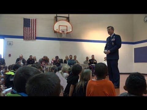 Stetson Elementary School Honors Veterans