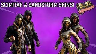"*NEW* ""SCIMITAR & SANDSTORM"" SKIN COMING INTO (FORTNITE BATTLE ROYALE)"