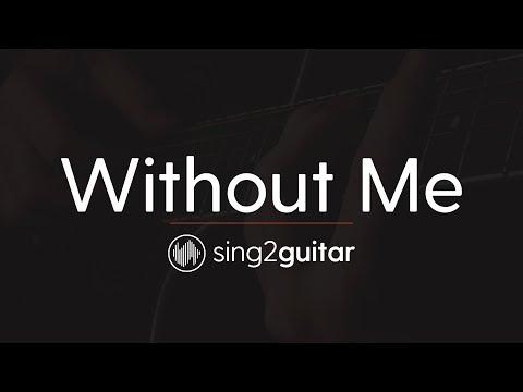 Without Me (Acoustic Guitar Karaoke Instrumental) Halsey