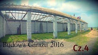 Budowa garażu 2016 // Cz.4 //☆ u Zarzeka TeamTV ㋡㋡