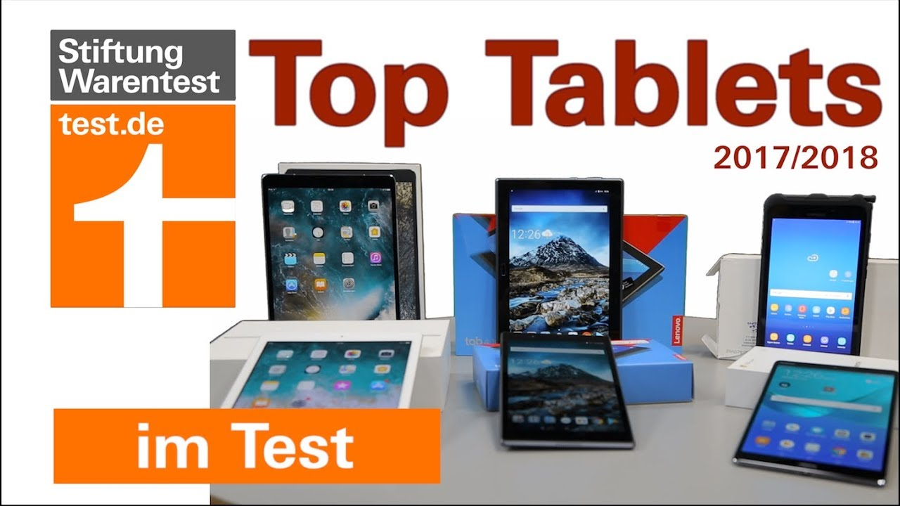 test tablets 2018 das sind die besten tablets tablet test stiftung warentest youtube. Black Bedroom Furniture Sets. Home Design Ideas