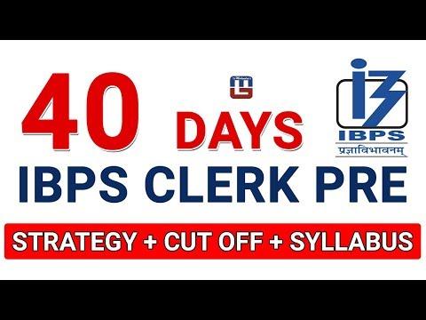 40 Days Strategy + Cut Off + Syllabus | Maths | IBPS RRB CLERK PRE 2017