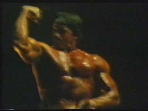 Arnold Schwarzenegger Mr Olympia 1980 you're the best