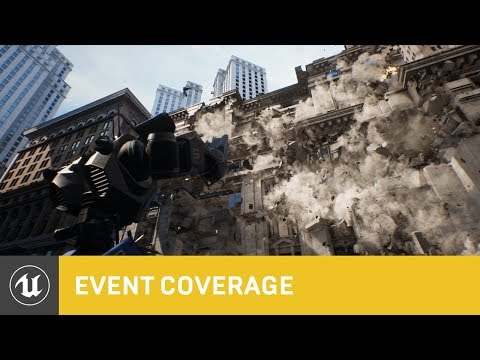 Chaos High-Performance Physics and Destruction System Full-length Demo | GDC 2019 | Unreal Engine