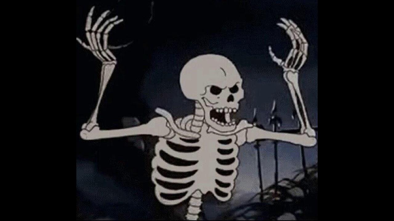 Картинки скелет из мультика