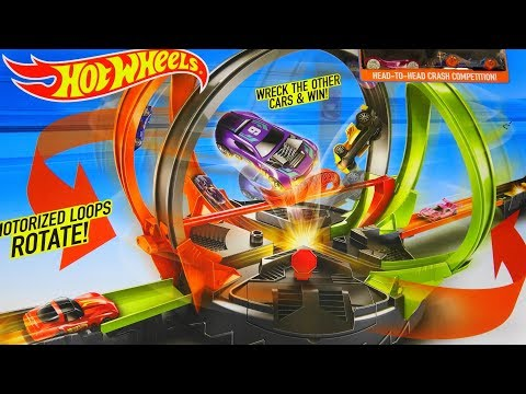 Hot Wheels Motorized Roto Revolution Tournament And Toy Review
