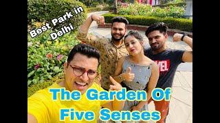 The Garden of 5 senses || Delhi tourist attraction || MPac VLOG
