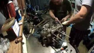 Переборка мотора БМ 200