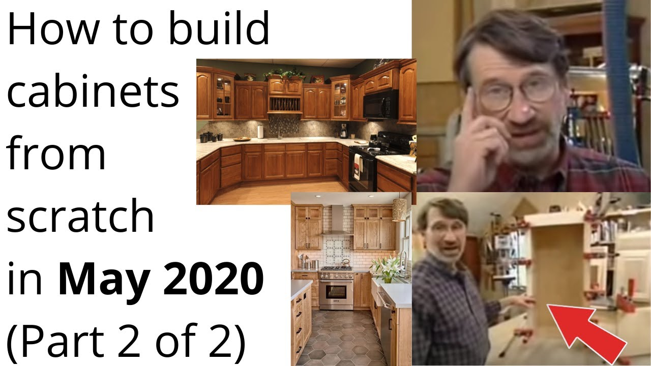 How To Build Cabinets In 2020 Building Cabinets By Norm Abram Nyws 2 Of 2 Youtube