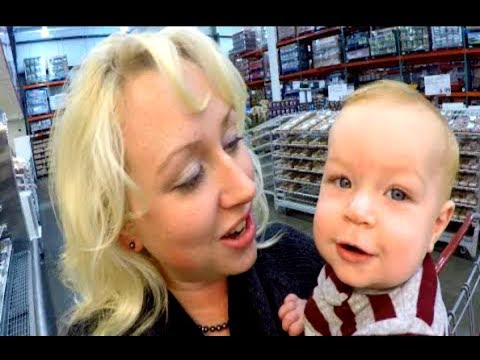 Large Family Once a Month Grocery Shopping Haul   HUGE Costco Shop with Me!