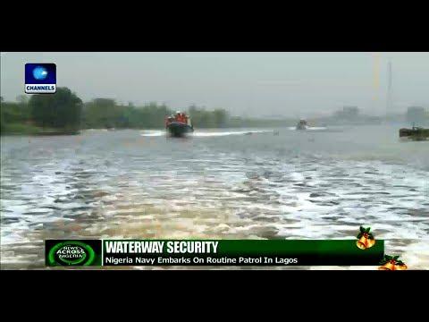 Navy Embarks On Routine Patrol In Lagos |News Across Nigeria|