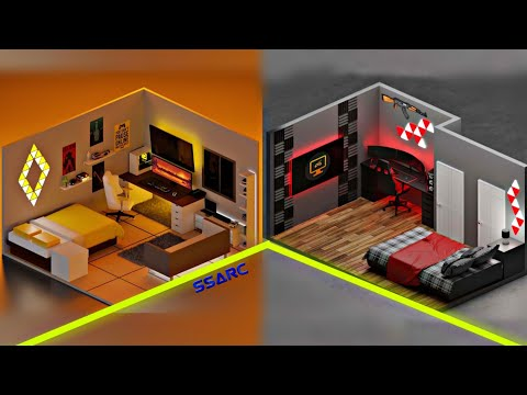 small gaming room setup idea 👌 2020 / for small rooms -3D design Episode- 20