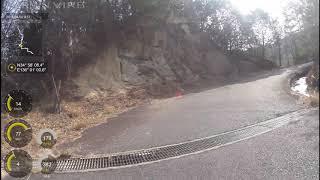 ポンコツライダーの強化訓練日記 day26 (金勝山)