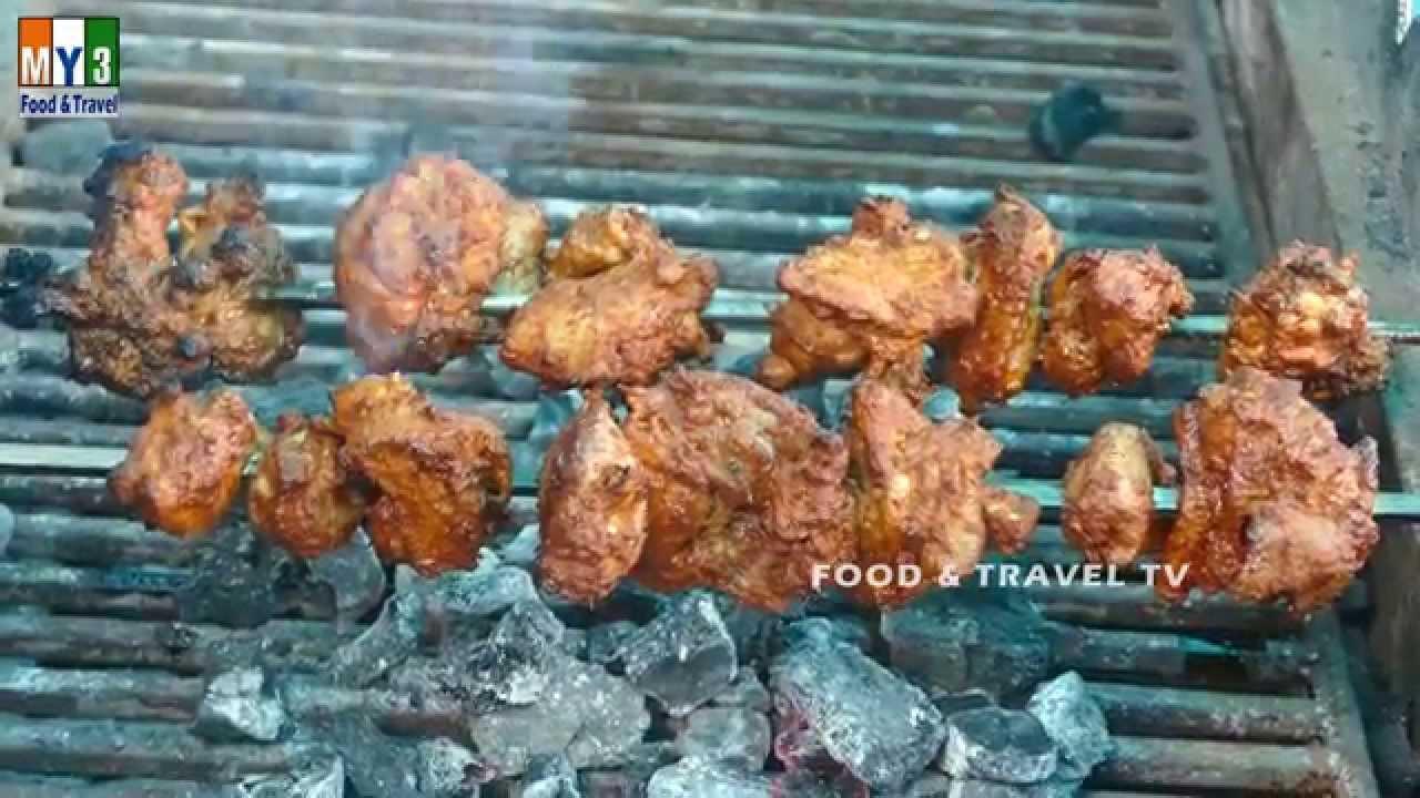 Chicken tikka non veg recipe in india hyderabadi street food chicken tikka non veg recipe in india hyderabadi street food food travel tv youtube forumfinder Choice Image