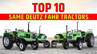 Top 10 Same Deutz Fahr Tractors in India | SDF Tractor | TractorJunction