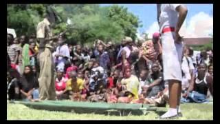 Burial ceremony of Tanzania's top film Star Steven kanumba (Michuzi Media Group)