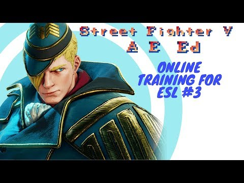 SFV:AE Online esl training with Ed #3