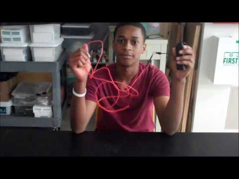 Christian demos his El Wire starter project!