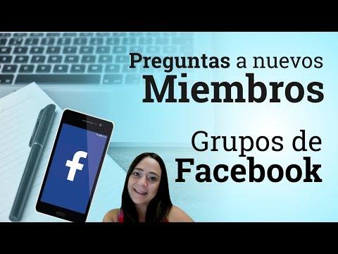 Como crear las preguntas de un grupo de Facebook para los nuevos miembros