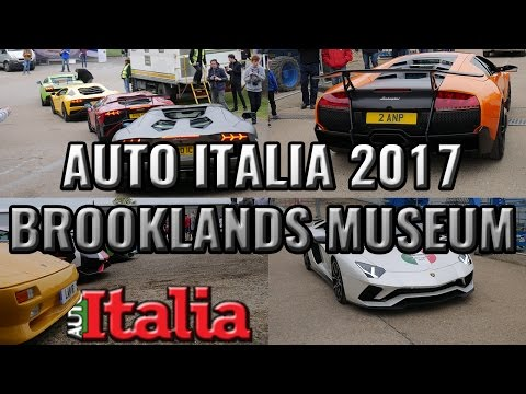 Auto Italia 2017 | Brooklands Italian Car Show